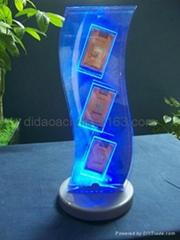 LED压克力资料展示架