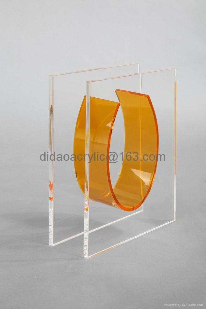 压克力花瓶, 有机玻璃透明花瓶 2