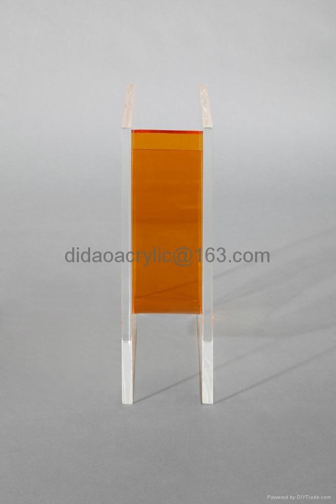 压克力花瓶, 有机玻璃透明花瓶 3