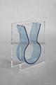 plexiglass vase, transparent vase, perpex glass vase