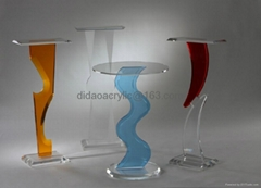 acrylic display case , acrylic display stand, acrylic wall console