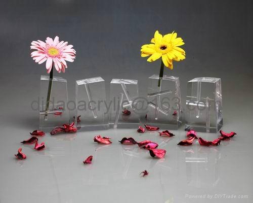 Acrylic Vase Plexiglass Vase Auc031 Hong Kong Manufacturer