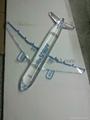 acrylic plane model ,plexiglass plane