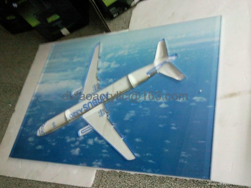 壓克力飛機模型 4