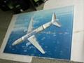 acrylic plane model ,plexiglass plane model