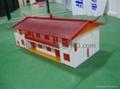 acrylic house model, acrylic building