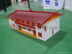 压克力楼房,别墅模型