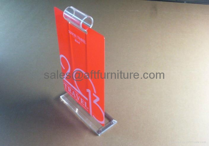ACRYLIC CALENDER DISPLAY STAND PERPEX GLASS DISPLAY 2