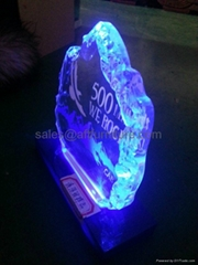 LED压克力发光展示牌,发光广告牌