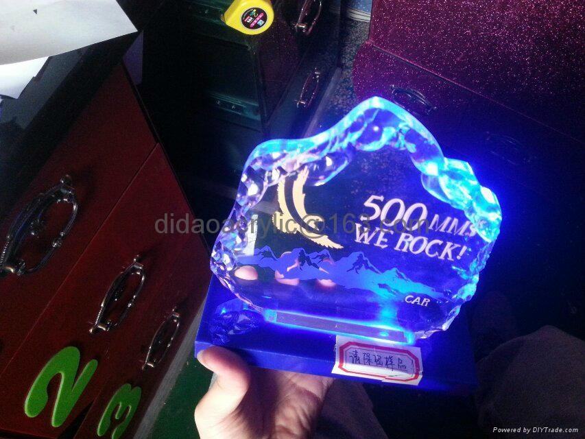 LED压克力发光展示牌,发光广告牌 4