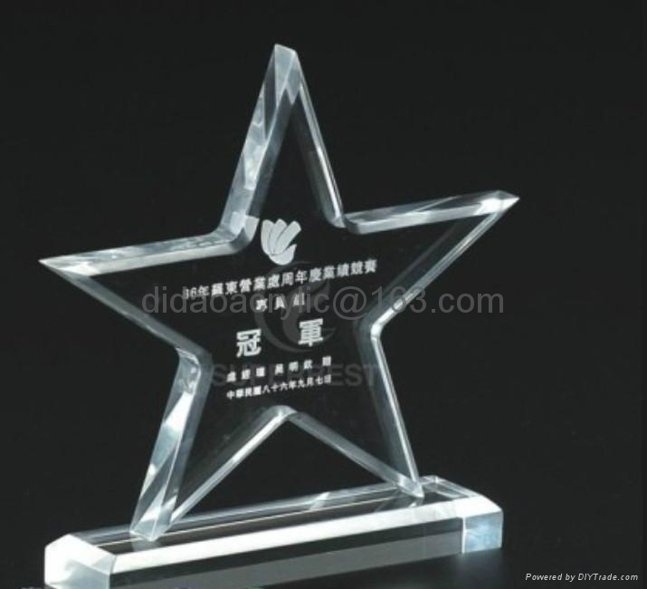 acrylic award trophy 1