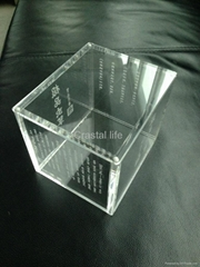 acrylic decoration box