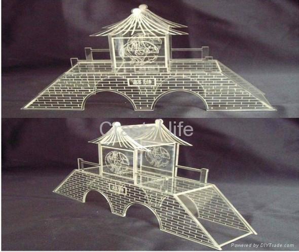 壓克力建築模型 1
