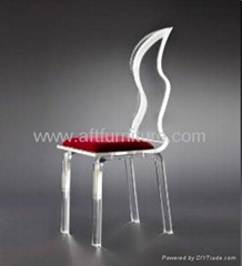 ACRYLIC wedding led chair, led wedding chairs
