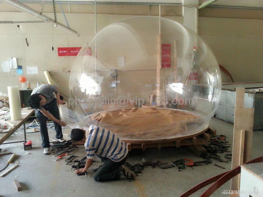 亞克力戶外球形屋 3