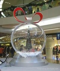 亚克力球形展示架