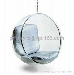 亚克力球形吊椅