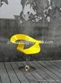 acrylic swival office chair