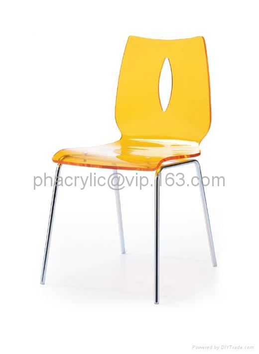 lucite dining chair 1