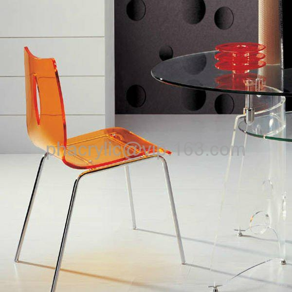 lucite dining chair 2