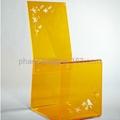 plexiglass dining chair  3