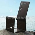 plexiglass dining chair  4