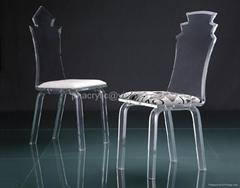 压克力餐椅
