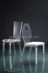acrylic dining chair perpex furniture lucite chair
