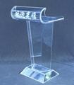 Acrylic led podium plexiglass pulpit
