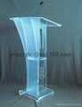 perspex glass podium ,acrylic pulpit
