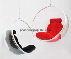 Acrylic bubble hanging chair