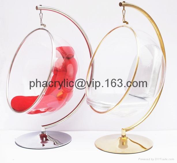 亞克力球形吊椅 3