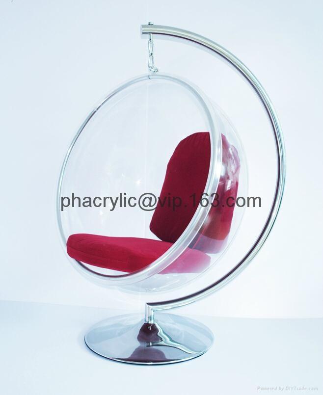 亞克力球形吊椅 4
