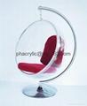 亞克力球形吊椅 5