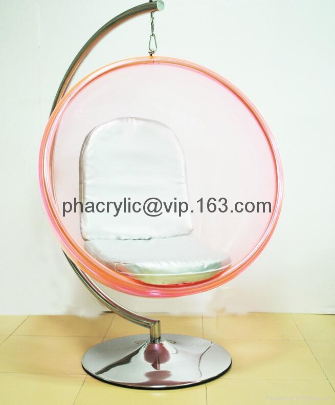 亞克力球形吊椅 6
