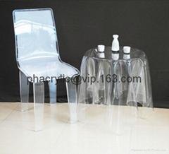acrylic magic side table without leg (Hot Product - 1*)