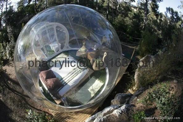 壓克力戶外球形屋 6