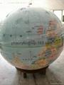 plexiglass  earth sphere