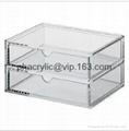 perspex stprage display box