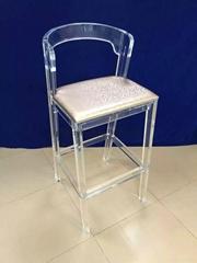 2015新款吧椅,压克力吧椅, 水晶吧椅
