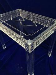 透明壓克力水晶餐台