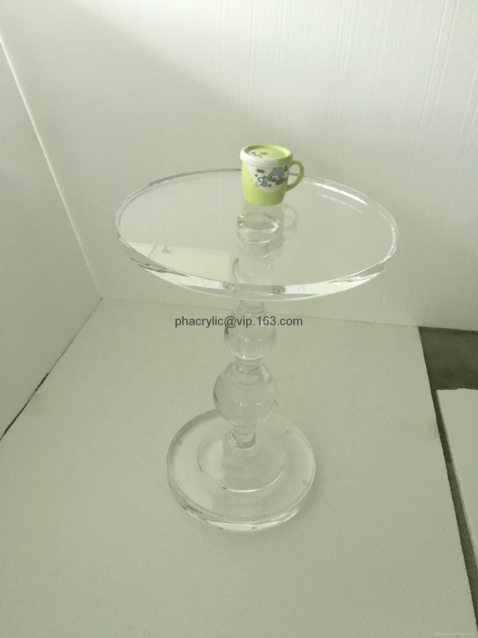 Acrylic end table 4