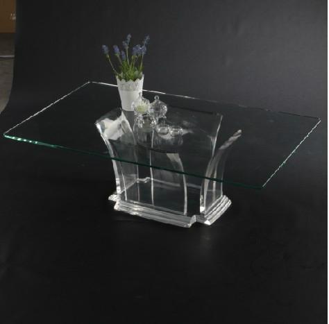 full transparant acrylic coffee table