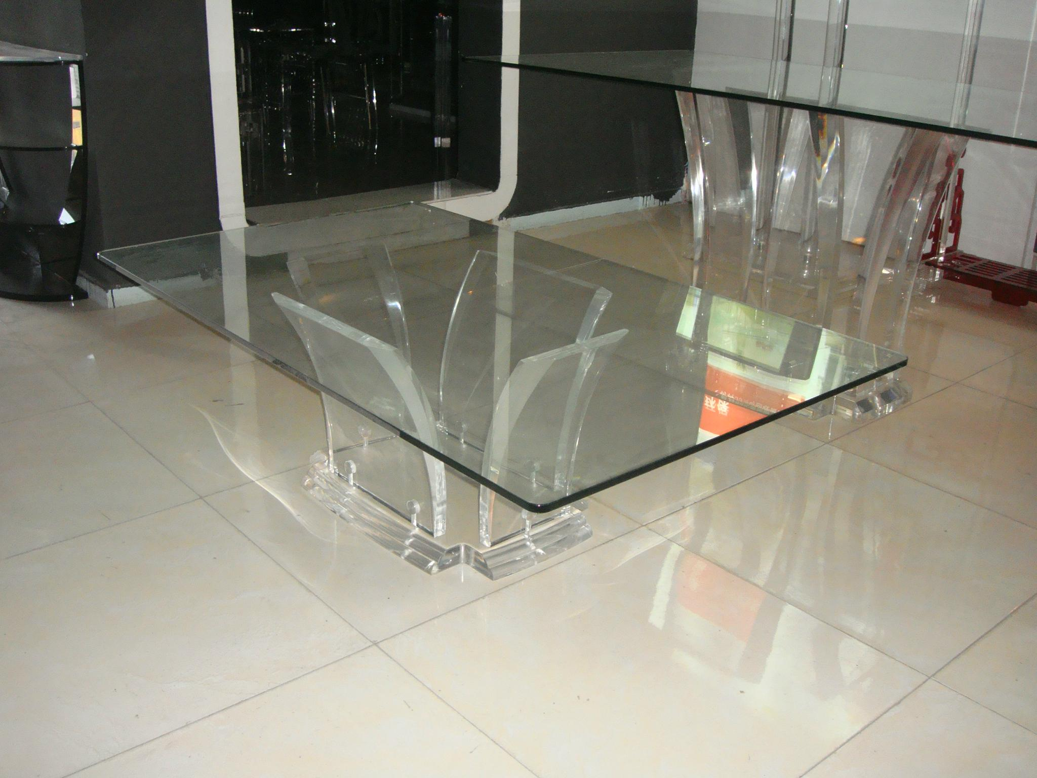 full transparant acrylic coffee table 3
