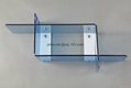 Acrylic wall mounted display shelf, plexiglas wall mounted display