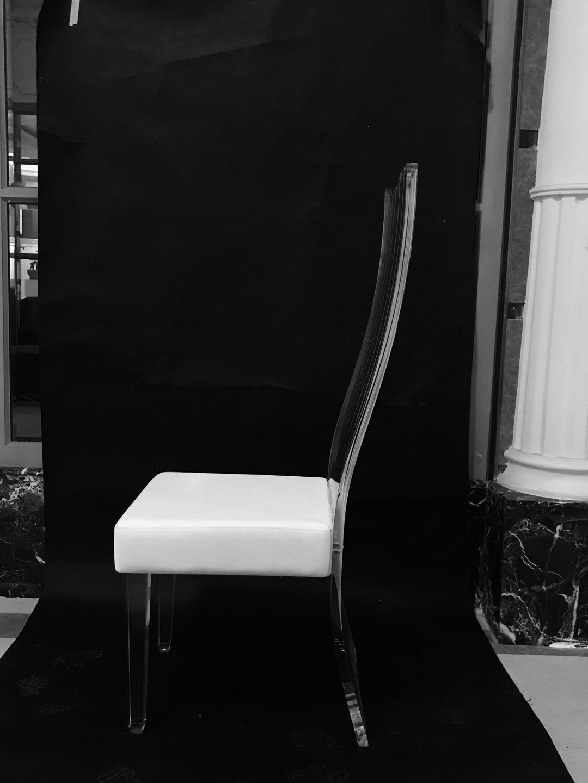 压克力高背餐椅 1