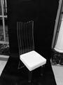 压克力高背餐椅 2