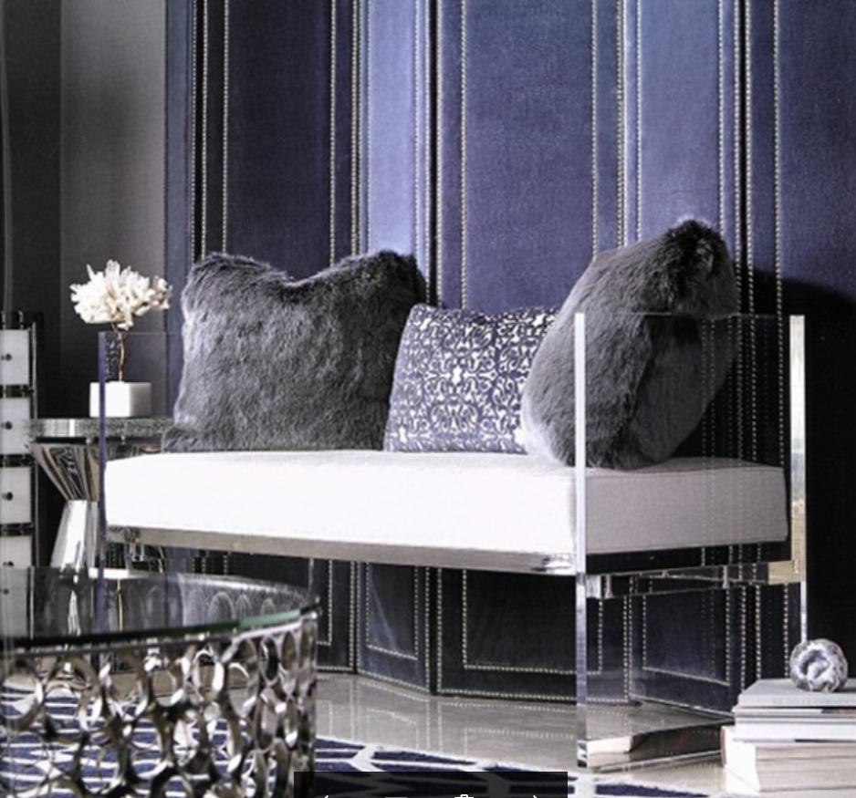Full Transferent acrylic perspex sofa 1