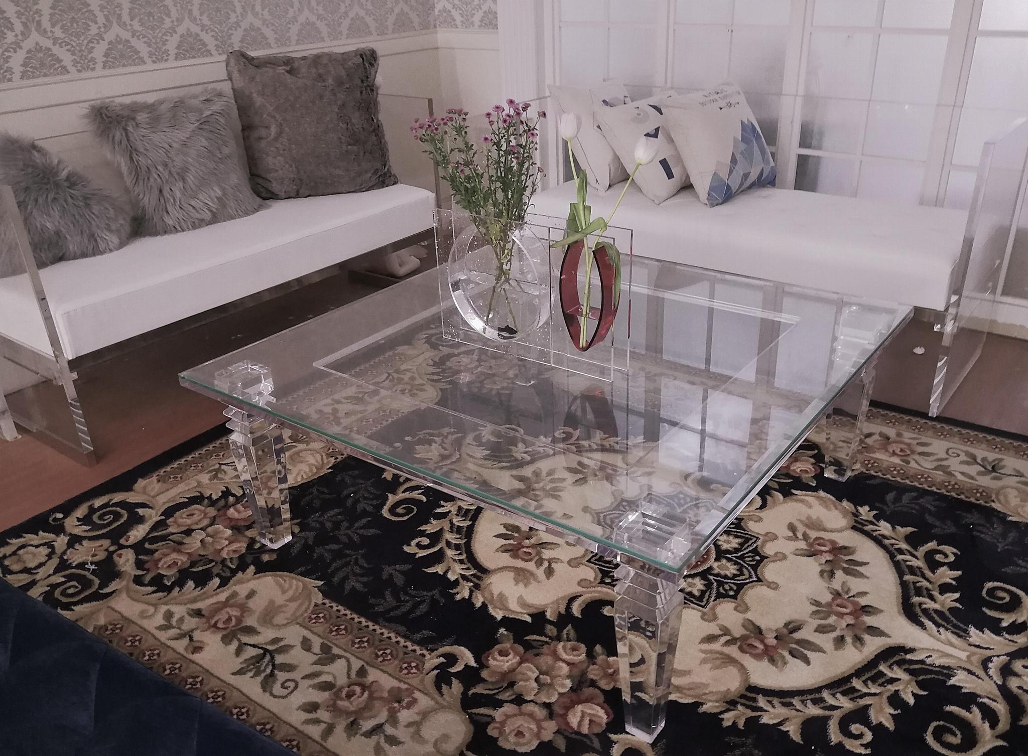 透明压克力沙发 3