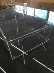 Transparent Acrylic plexiglass nike Shoe box